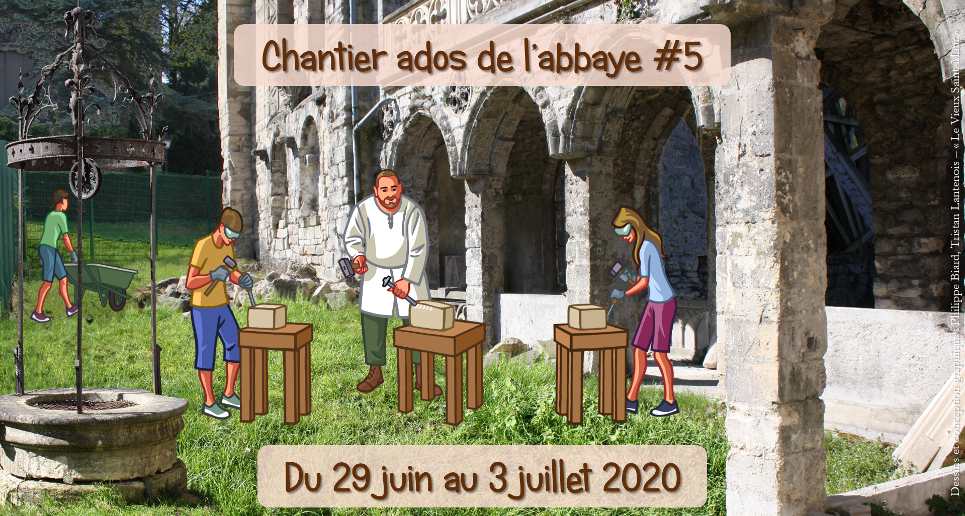 Flyer chantier ados 2020
